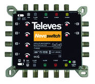 MS56C Televes MS56C 5in6 Guss Multischalt. NEVO receiverpowered kaskadierb. 714502