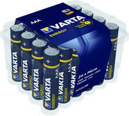 04103229224 VARTA 04103229224 ENERGY AAA Clear Value Box=24 Micro Alkali-Mangan LR03 1200mAh
